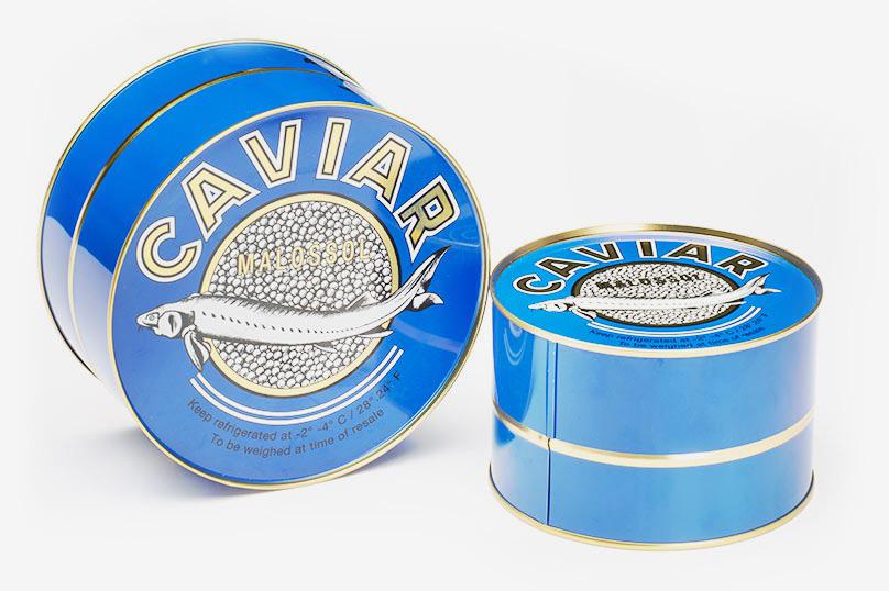 Caviale in latta originale